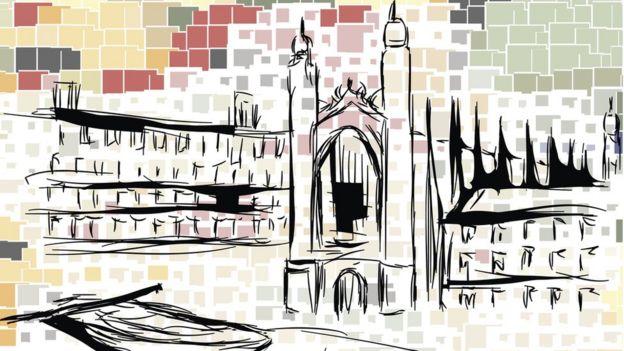 Dibujo de la Universidad de Cambridge