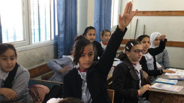 Salma Sheikh Ahmed in English lesson