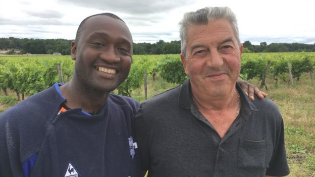 Olivier Tebily (left) and Jean-Michel Lepine