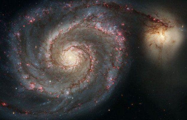 Ilustração representando o universo