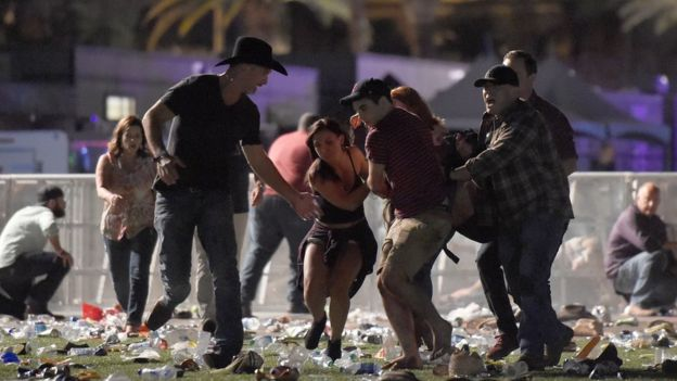 إطلاق النار في لاس فيغاس