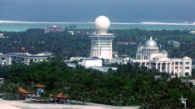 Tam Sa, một thành phố do Trung Quốc này xây dựng trên đảo Phú Lâm mà Trung Quốc gọi là Vĩnh Hưng thuộc quần đảo Hoàng Sa (tên Trung Quốc là Tây Sa).