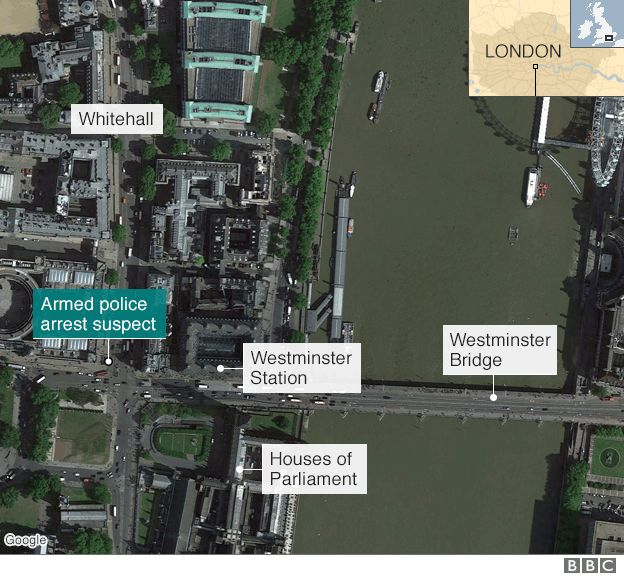 Westminster map