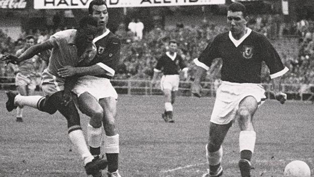 Бразилия против Уэльса, ЧМ-1958