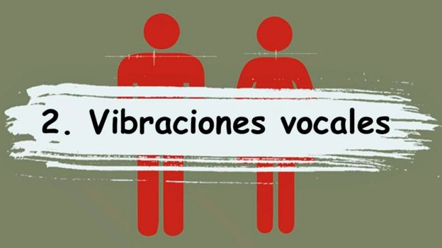 2. Vibraciones vocales