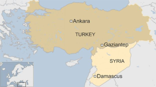 Turkey wedding blast 30 dead and 90 hurt in Gaziantep BBC News