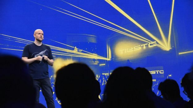 Spotify chief executive Daniel Ek has had agree to more restrictive terms in order to please record labels