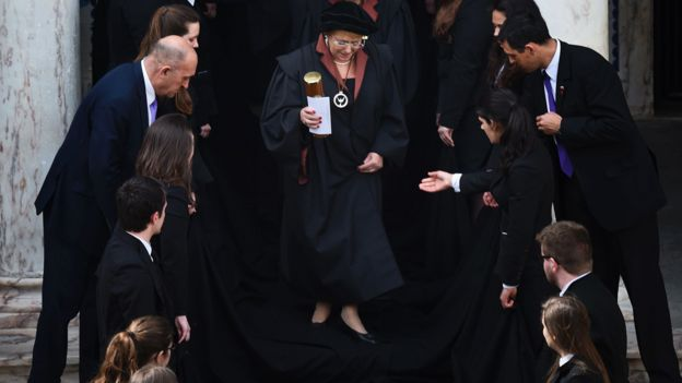 Bachelet recibe un doctorado honoris causa