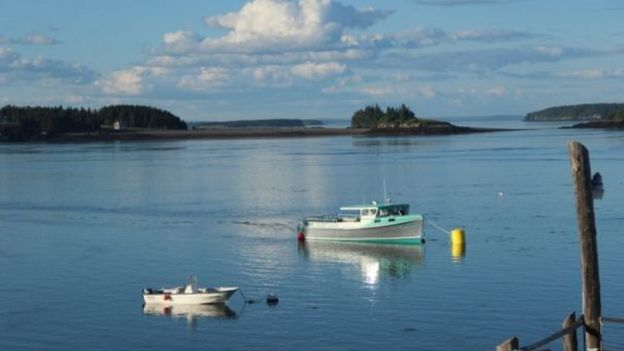 Maine eyaletinde Eastport kasabası