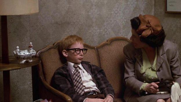 Película Annie Hall, de Woody Allen, 1977.