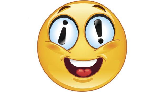 Emoji con signos de exclamación.