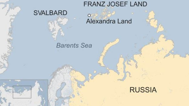 Russias New Arctic Trefoil Military Base Unveiled With Virtual - Map of us bases around russia