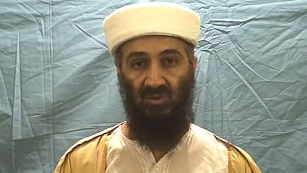 لقطة لزعيم تنظيم القاعدة السابق أسامة بن لادن عام 2011