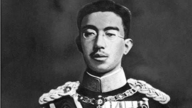 Emperor Hirohito in 1942