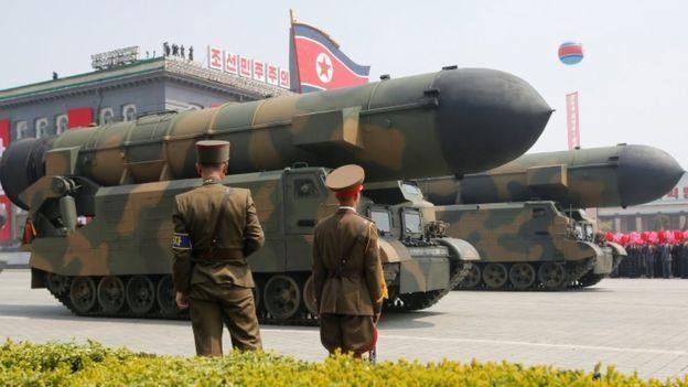 ขีปนาวุธ SLBM ของเกาหลีเหนือ