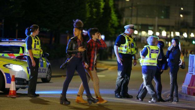 После взрыва в Манчестере