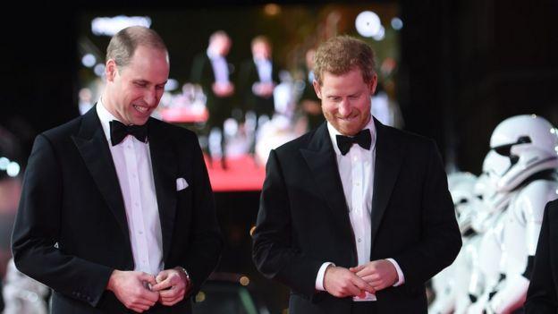 Принц Вільям та Гаррі