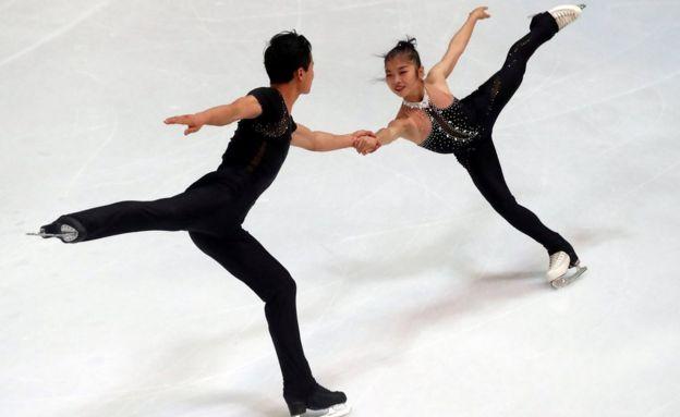 Ryom Tae-Ok e Kim Ju-Sik