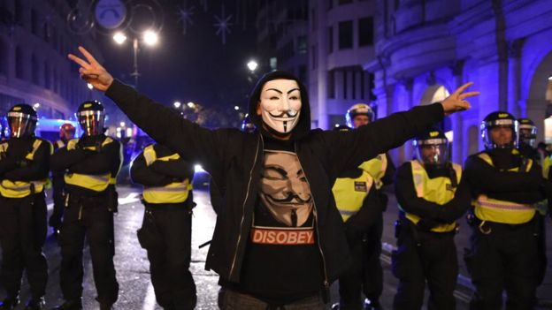 Image result for million mask march