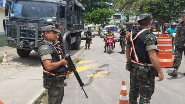 Monitoramento na fronteira com a Colômbia