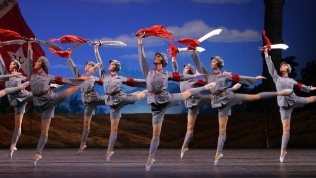 芭蕾舞《紅色娘子軍》