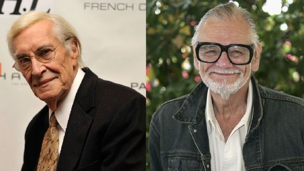 Martin Landau and George A Romero