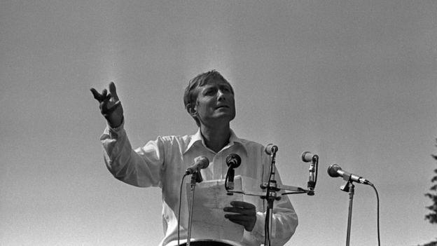 Евгений Евтушенко, 1970-е гг.