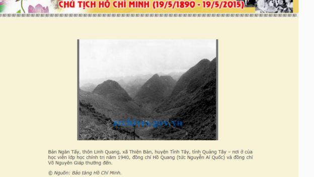 Tại Quế Lâm, Quảng Tây có các hiện vật, hình ảnh giới thiệu thời kỳ ông Hồ Chí Minh hoạt động tại Trung Quốc
