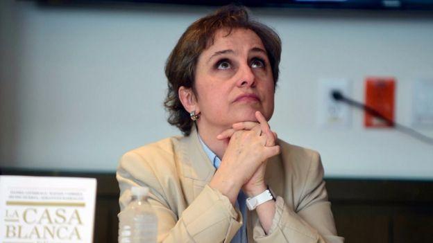 La periodista Carmen Aristegui ha padecido acoso en internet desde hace 4 años.
