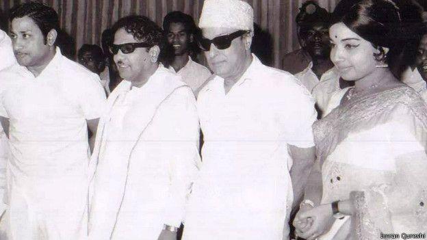 எம்ஜியார்,சிவாஜி கணேசன், ஜெயலலிதா, கருணாநிதி
