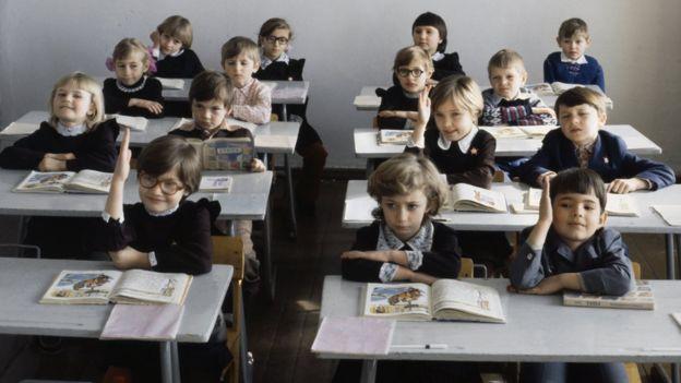 Советские школьники в Казахстане