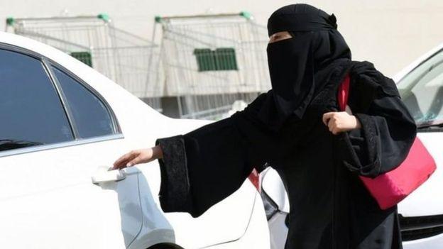 Mujer saudita