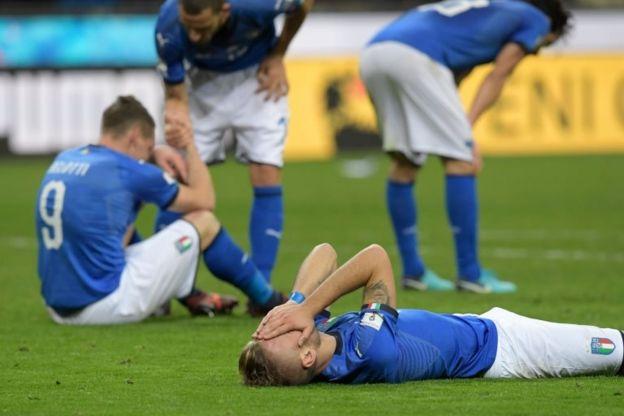 Italia players lament