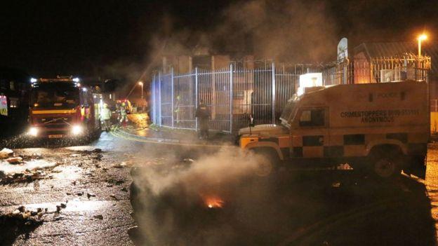 Belfast trouble