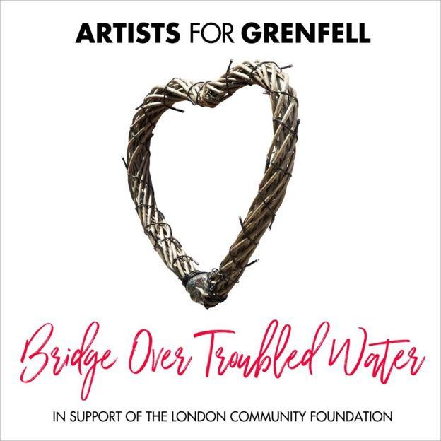 Artists for Grenfell single artwork