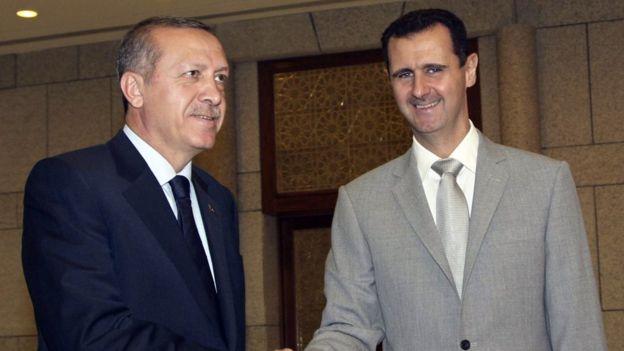 Recep Tayyip Erdoğan ve Beşar Esad (2010)