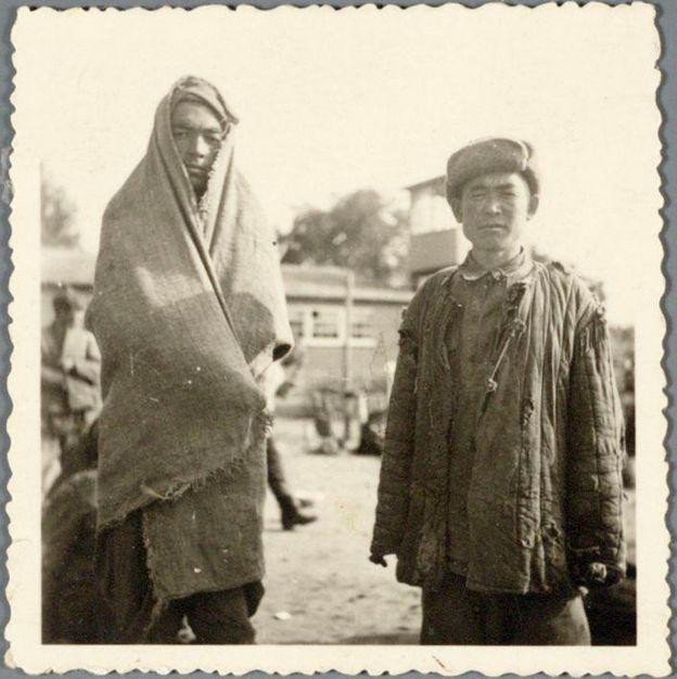 Заключенные лагеря в Амерсфорте