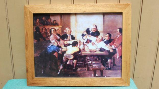 Quando mostrando uma cirurgia nos anos 1800