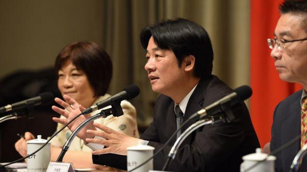 台灣行政院長賴清德拍板定案,25日起台灣北韓全面禁止貿易往來。