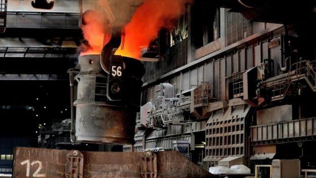 Çelik fabrikası