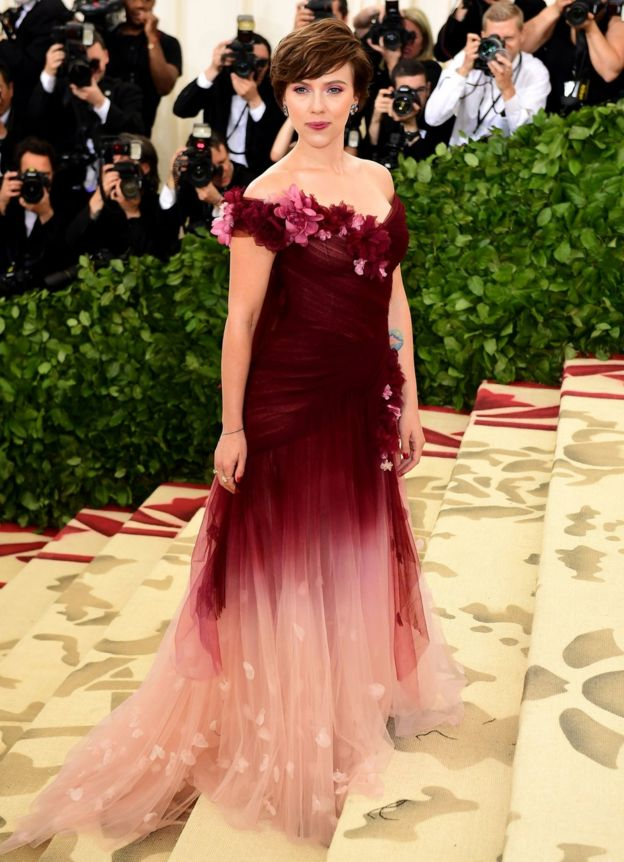 Scarlett Johansson at the Met Gala