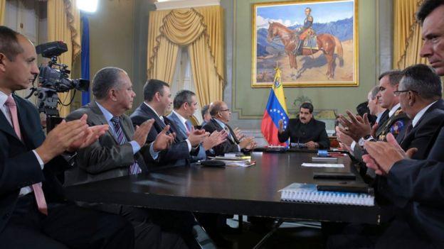 Consejo de Defensa Nacional en Venezuela, 1 abril 2017