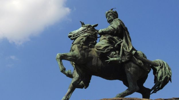 Thủ lĩnh Cossack, Bohdan Khmelnytsky (1595-1657) được Ukraine tôn là anh hùng dân tộc