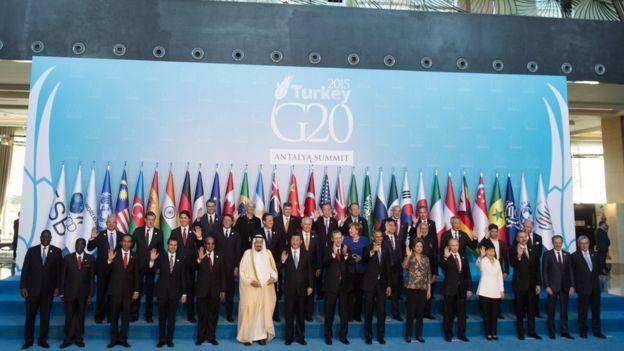 2015 yılında G20 zirvesi Türkiye'de yapıldı