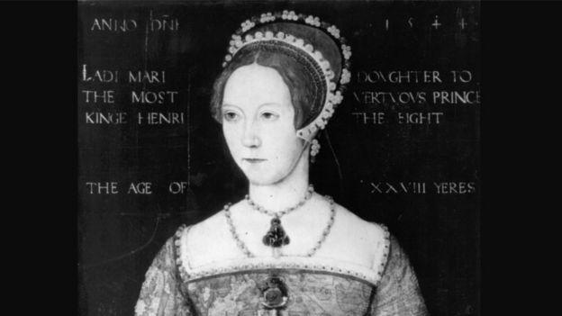 صورة تعبيري للملكة ماري الأولى