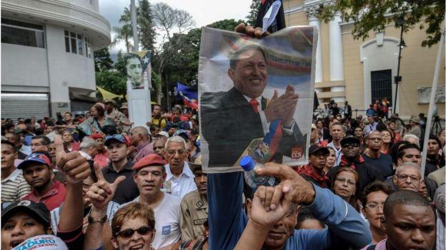 Manifestación a favor de la Constituyente