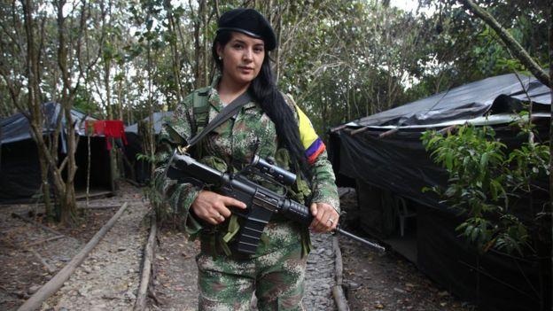 La paz en Colombia - cover