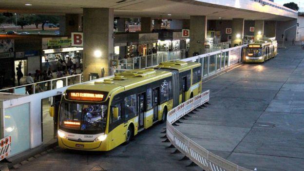 Terminal de ônibus em Brasília