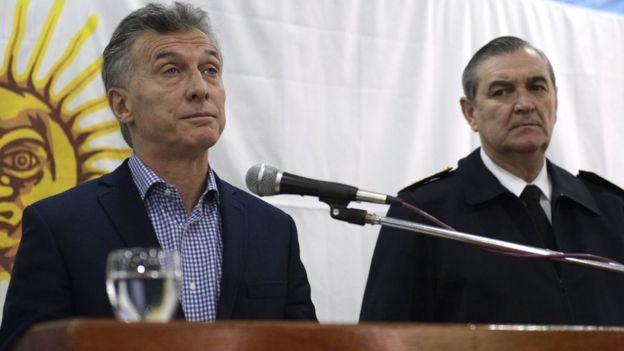 Mauricio Macri y Marcelo Srur.