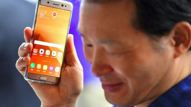 Samsung inasema marekebisho yaliyofanyika ni makubwa